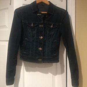 American Eagle Dark Wash Jean Jacket - XS